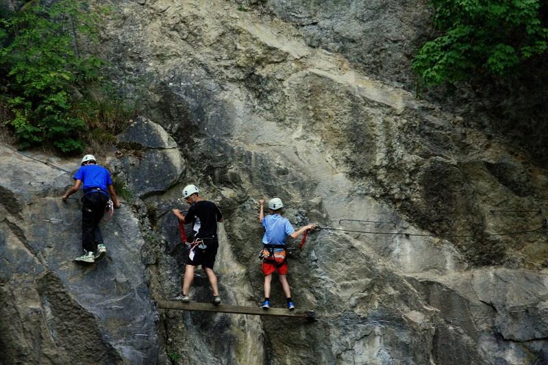 Klettersteig Ardennen : Klettersteig via ferrata ardennen