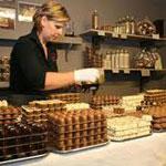 Bezoek chocolade atelier met GPS