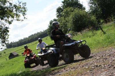 Quad rijden Ardennen
