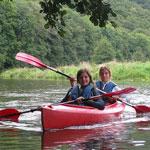 Begeleide kanotocht 9 km | Ourthe
